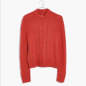 Madewell Bayfront Turtleneck Sweater SZ M